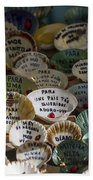Messages On Shells Bath Towel