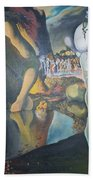 Metamophosis Of Narcissus Bath Towel