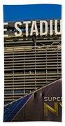 Metlife Stadium Super Bowl Xlviii Ny Nj Bath Towel