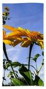 Mexican Sunflower Bath Towel
