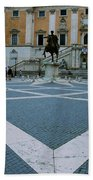 Michael Angelo's Campidoglio Bath Towel