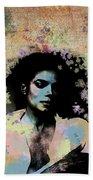 Michael Jackson - Scatter Watercolor Bath Towel
