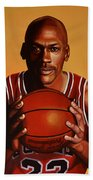 Michael Jordan 2 Bath Towel