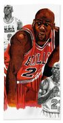 Michael Jordan Bath Towel