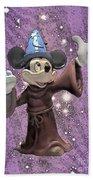 Mickey And The Stars Bath Towel