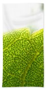 Micro Leaf Bath Towel
