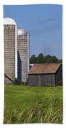 Middlebury Vermont Barn Bath Towel