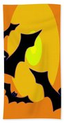 Midnight Sunset Bath Towel