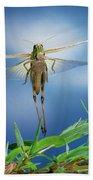 Migratory Locust Flying Bath Towel