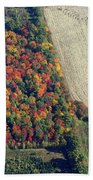 Milk And Fruity Pebbles Bath Towel