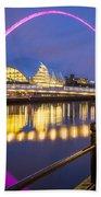 Millennium Bridge - Gateshead Bath Towel