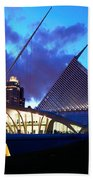 Milwaukee Art Museum Bath Towel
