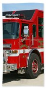 Milwaukee Fire Dept. Rescue 1  Bath Towel