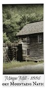 Mingus Mill - Color Poster Bath Towel
