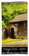 Mingus Mill -- Poster Bath Towel