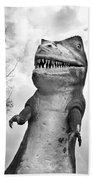 Miniature Golf Dinosaur Bath Towel