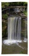 Minneopa Falls 37 Bath Towel