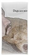Miracles With Paws Bath Towel