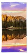Mirror Lake Yosemite National Park Bath Towel