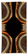 Mirrored Abstract Bath Towel