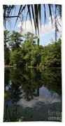 Mirrow Lake - Magnolia Gardens Bath Towel