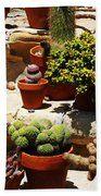 Mission Cactus Garden Bath Towel