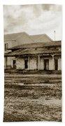 Mission San Francisco De Asis Mission Dolores And Mission House Calif. 1880 Bath Towel