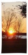 Mississippi Sunset 9 Bath Towel