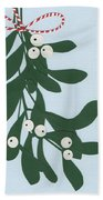 Mistletoe Bath Towel