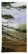 Misty Forest Bay Bath Towel