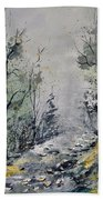Misty Forest Hand Towel