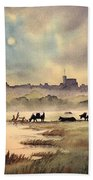 Misty Sunrise - Windsor Meadows Bath Towel