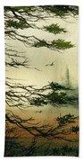 Misty Tideland Forest Bath Towel