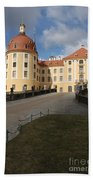 Moated Castle Moritzburg Bath Towel