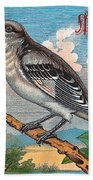 Mocking Bird Bath Towel