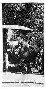 Model T Ford, 1919 Bath Towel