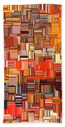 Modern Abstract Xxxi Bath Towel