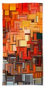 Modern Abstract Xxxiv Bath Towel