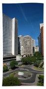 Modern Buildings In Central Rio De Bath Towel