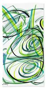 Modern Drawing Sixty Bath Towel