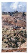 Mojave Desert View - Valley Of Fire Bath Towel