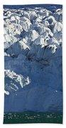 Monaco Glacier Liefdefjorden Norway Bath Towel