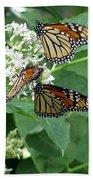 Monarch Butterfly 66 Bath Towel