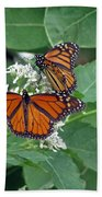 Monarch Butterfly 68 Bath Towel