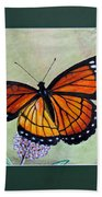Viceroy Butterfly By George Wood Bath Towel