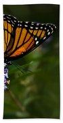 Monarch Butterfly Bath Towel
