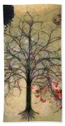 Monet Splashed Petals Bath Towel