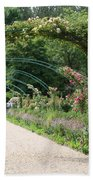 Monets Garden - Giverney - France Bath Towel