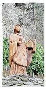 Monk Of St Goar Bath Towel