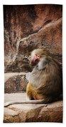 Monkey Business Bath Towel